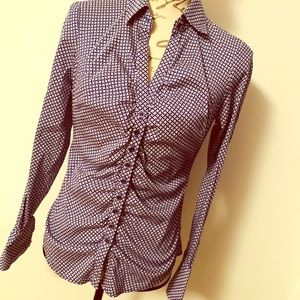 New York & Co Stretch Button Down